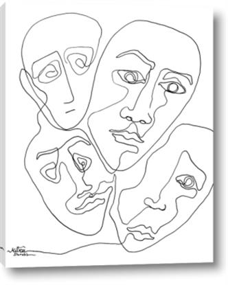 Picture of Four Faced